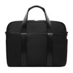 Creative Hanging Belt Silver Laptop Bag, Size: 14 Inches (Black)