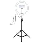 PULUZ 1.6m Height Tripod Mount Holder for Vlogging Video Light  Live Broadcast Kits