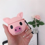 For Huawei FreeBuds 3 Cute Pig Pattern Silicone Wireless Earphone Protective Case Storage Box