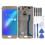 LCD Screen and Digitizer Full Assembly with Frame for Asus Zenfone 3S Max ZC521TL X00GD (Gold)