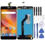 LCD Screen and Digitizer Full Assembly for ZTE BLADE X3 A452 T620 (Black)