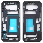 Front Housing LCD Frame Bezel Plate for LG G8 ThinQ G820QM G820V G820N G820UM(Black)