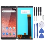 LCD Screen and Digitizer Full Assembly for Nokia 1 Plus(Black)