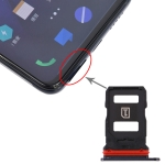 SIM Card Tray + SIM Card Tray for Vivo iQOO Pro (Black)