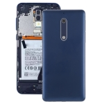 Battery Back Cover with Camera Lens & Side Keys for Nokia 5(Blue)