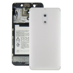 Battery Back Cover with Camera Lens & Side Keys for Nokia 6 TA-1000 TA-1003 TA-1021 TA-1025 TA-1033 TA-1039(White)