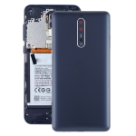Battery Back Cover with Camera Lens & Side Keys for Nokia 8 / N8 TA-1012 TA-1004 TA-1052(Blue)