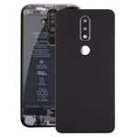 Battery Back Cover with Camera Lens for Nokia X6 (2018) / 6.1 Plus TA-1099(Black)