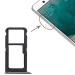SIM Card Tray + SIM Card Tray / Micro SD Card Tray for Nokia 7 TA-1041 (Black)