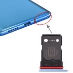 SIM Card Tray + SIM Card Tray for OnePlus 7T (Blue)