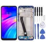 LCD Screen and Digitizer Full Assembly with Frame for Xiaomi Redmi 7 (Blue)