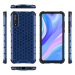 For  Huawei Enjoy10S  Shockproof Honeycomb PC + TPU Case(Blue)