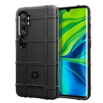 For Xiaomi Mi CC9Pro / Mi Note 10 Full Coverage Shockproof TPU Case(Black)