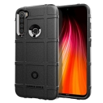 For Xiaomi Redmi Note 8T Full Coverage Shockproof TPU Case(Black)