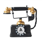 Resin Turntable Phone Model Creative Home Office Porch Ornament Decoration