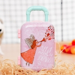 Christmas Toy Gift Trolley Case Cartoon Early Education Children Play House Small Gift Suitcase(Type 8)