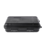 Outdoor Shockproof Waterproof Tool Box Airtight Case EDC Travel Sealed Container(Black)