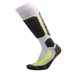 Ski Socks Outdoor Sports Thick Long Sweat-absorbent Warm Hiking Socks, Size:35-39(White)