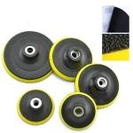 5 PCS Polishing Disc Self-adhesive Sponge Disc Pneumatic Sandpaper Suction Cup, Size:150mm M14