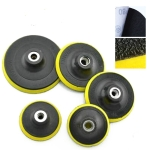5 PCS Polishing Disc Self-adhesive Sponge Disc Pneumatic Sandpaper Suction Cup, Size:180mm M14