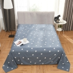 Student Dormitory Double Single Grinding Skin-Friendly Multi-Size Multi-Function Sheet, Size:120x200cm(Grey)