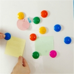 10 PCS Creative Color Refrigerator Magnetic Stickers Magnet Decoration Whiteboard Magnetic Stickers, Color Random Delivery