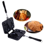 Fish-Shaped Bakeware Waffle Pan Baking Sea Bream Cake Mold Home Tools