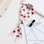 Spring and Summer Tarot Pattern Professional Chiffon Small Neckerchief Wild Scarf, Size:105 x 6.5cm(Love)