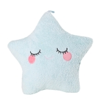 Cuddly Soft Star Pillow Plush Toy (Blue)
