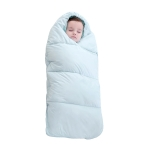 Baby Sleeping Bag Thickened Warm Newborn Quilt, Size:80cm, for 0-1 Years Old (Blue)