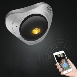 Difang DF-IPC008 3MP 360 Degree Rotating Smart Home HD WIFI Network Monitoring Panoramic Camera