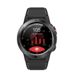 SMA-M4 1.3 inch IPS Color Touch Screen Smart Watch, Support GPS / Heart Rate Monitor / Sleep Monitor / Bluetooth Camera, Compatible with Android and iOS System(Black)
