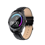 Z11 1.3 Inch Full Circle Smart Sport Watch IP67 Waterproof, Support Real-time Heart Rate Monitoring / Sleep Monitoring / Bluetooth / Alarm Clock (Black)