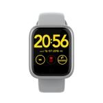 HAMTOD GT1 Plus 1.3 inch TFT Screen IP68 Waterproof Smart Watch Smart Bracelet, Support Call Reminder / Heart Rate Monitoring / Sleep Monitoring (Grey)