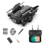 4K Pixels Foldable HD Aerial Photography Dual Cameras RC Quadcopter Drone Remote Control Aircraft, Storage Bag Packaging