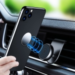 FLOVEME Universal Car L-shaped Magnet Air Outlet Bracket