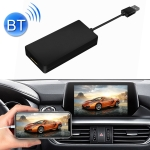 Car Navigation for Android / Apple Carplay Wireless Bluetooth Module Auto Smart Phone USB Carplay Adapter (Black)