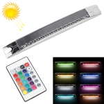 Car Solar Energy Multi-functional Emergency Light 15-color Strobe Lamps with Remote Control