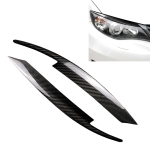 Carbon Fiber Car Mould Pressing Lamp Eyebrow Decorative Sticker for Subaru Impreza 10th Generation WRX 2008-2011