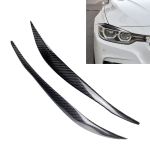 Carbon Fiber Car Mould Pressing Lamp Eyebrow Decorative Sticker for BMW 3 Series F30 2013-2015