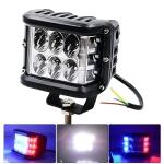 CS-880A1 Car Dust-proof Waterproof Metal Square LED Headlights, Screw Version
