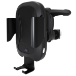CS-984A1 Car Air Outlet Wireless Infrared Sensor Mobile Phone Charging Stand Holder (Black)