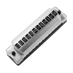 CS-978A2 FB1902 1 In 12 Out Independent Positive Negative Fuse Box without Fuse Piece for Auto Car Truck Boat