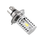 MB-SL009 H4 DC9-32V 15W 1600LM 6500K Universal Motorcycle High and Low Beam Highlight Headlights with 9 CSP Lamp Beams