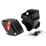 Foldable Motorcycle Lock Bike Lock Strong Security Anti-theft Lock with 2 Keys