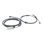 2 PCS Car Front Rear Brake Pad Sensor Cable 34356792562 for BMW E81 / E46 / E90