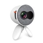 YG220 Children Projector Mini LED Portable Home Speaker Projector (White)
