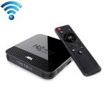 H96 MINI H8 4K UHD Smart TV Box with Remote Controller, Android 9.0 RK3228A Quad-core Cortex-A7, 2GB+16GB, Support WiFi & BT & AV & HDMI & Ethernet (Black)