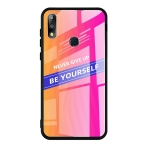 For Asus Zenfone Max Pro M2 ZB631KL Shockproof PC + TPU + Glass Protective Case(Pink)