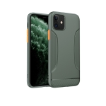 For iPhone 11 Pro Max hoco Warrior Series Soft TPU Protective Case(Dark Green)